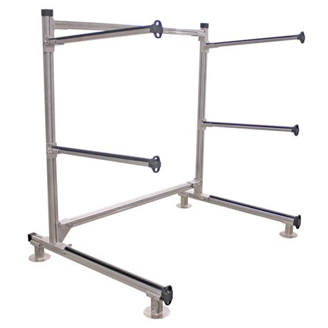 Carrying Rack by Storage Rack For Canoes Kayaks Sup Boards And Other Small Crafts