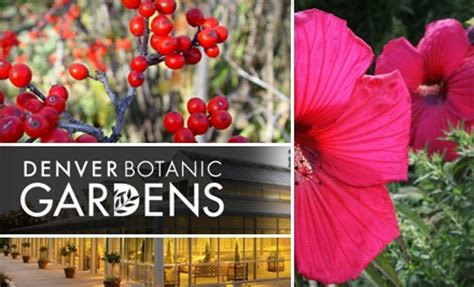 Denver Botanic Gardens Coupons Free Day At The Denver Denver Botanic Gardens Coupons