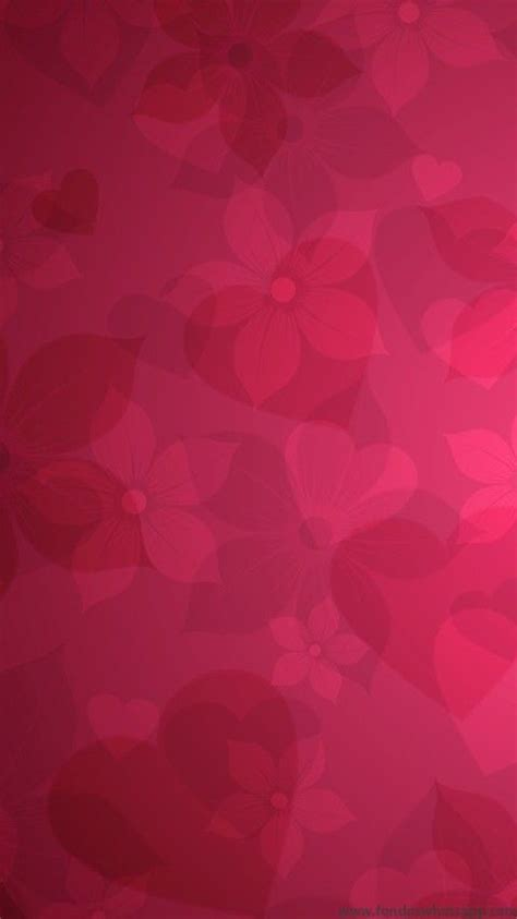 wallpaper whatsapp pink fondo whatsapp corazones y flores fondos whatsapp