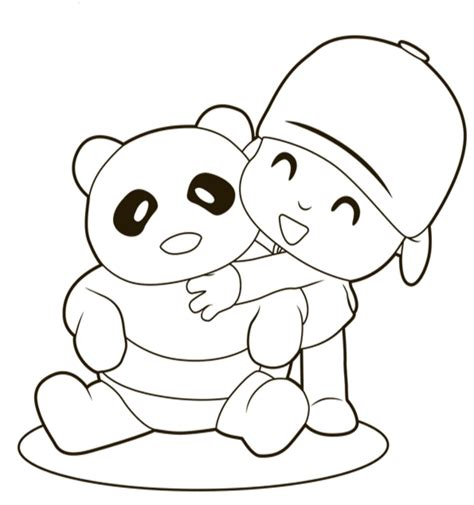 Free Printable Pocoyo Coloring Pages For Kids Book Pictures To Color