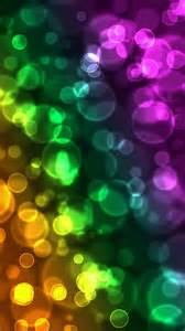colorful bubbles colorful blurred bubbles wallpaper free iphone wallpapers