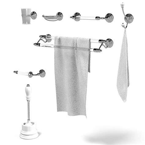 Classic Bathroom Accessories 3d Model Chelsea Accessories