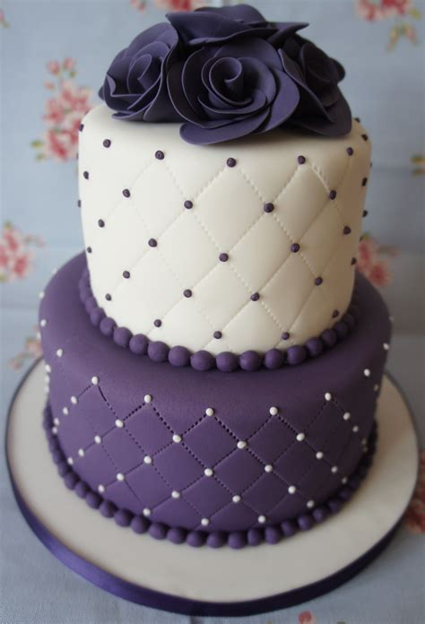Quilted Cake by Wedding Cakes Georgina S Cakes