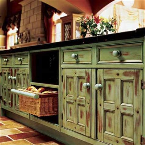 distressed painted kitchen cabinets distressed cabinets pictures