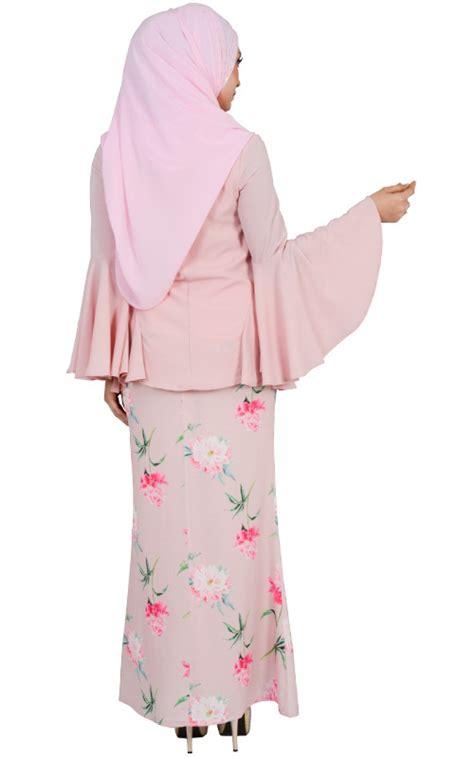 Hasna Set 3 hasna modern baju kurung set blush baju kurung