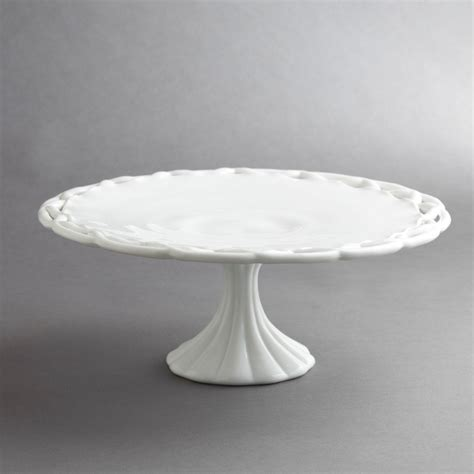 Cake Stand Simple White Large 35 best images about milk glass on black milk pedestal and dishes