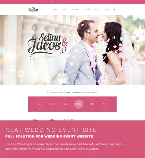 amazing wedding joomla template gallery resume ideas