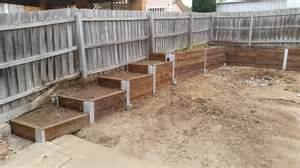 retaining walls construction melbourne retainer wall