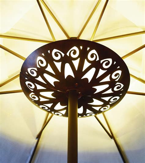 garden oasis 20ct led battery operated umbrella light