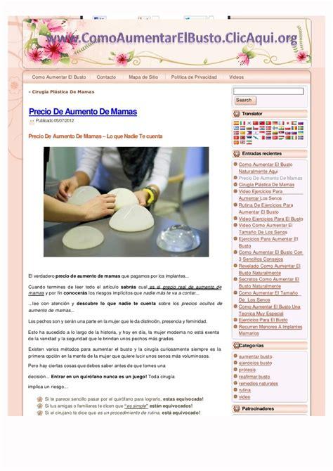aumento de mamas aumento de mamas precios ridiculo precio de aumento de mamas 37 usd increible