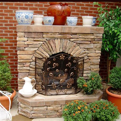 23 best outdoor fireplaces images on backyard