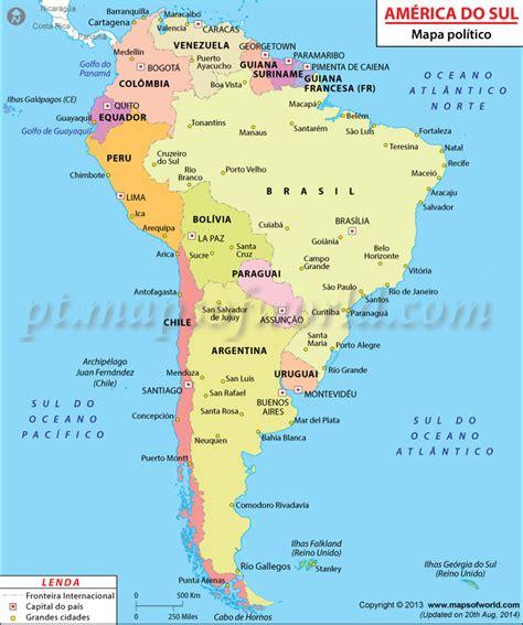 mapa a america do sul am 233 rica do sul mapa mapa da am 233 rica do sul
