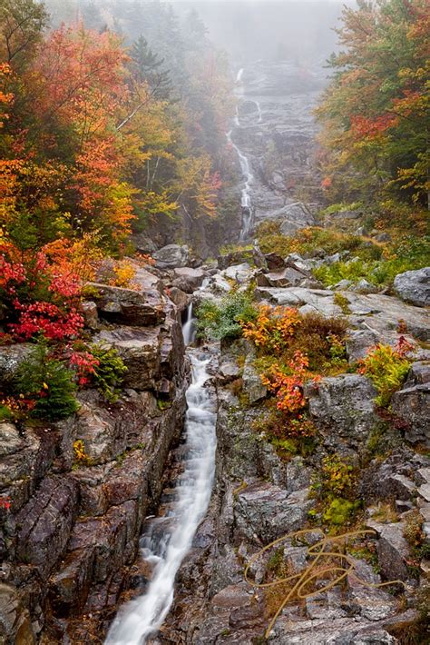 silver cascade nh new england waterfalls when it rains get out and shoot jeff sinon photography