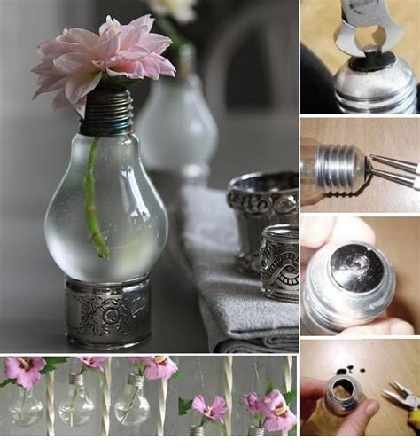 Light Bulb Planter Diy by Recycle Light Bulbs Planters Usefuldiycom Image