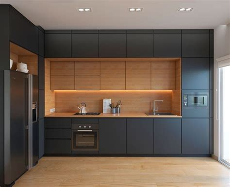 Lemari Dapur Dari Kayu 14 model lemari dapur minimalis terbaru 2017 housepaper net