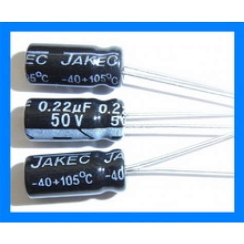 22uf capacitor converter 0 22uf 50v 105c radial electrolytic capacitor 5x11mm