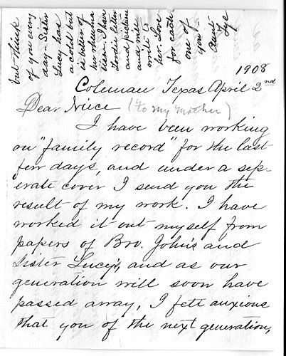 Letter To Freeman