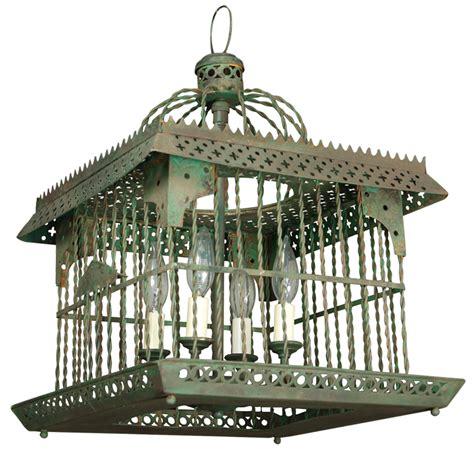antique bird cage light at 1stdibs