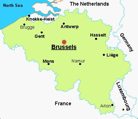 map of belgium airports airports in belgium