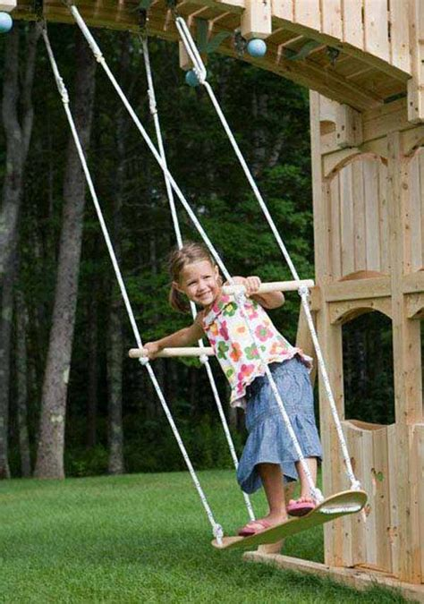 how to make a kids swing amazingly diy patio and garden swings