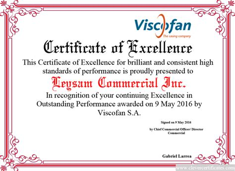 certificates for employees templates certificate of excellence free certificate templates for