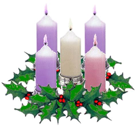 i colori delle quattro candele dell avvento nel giardino degli angeli aspettando natale la corona