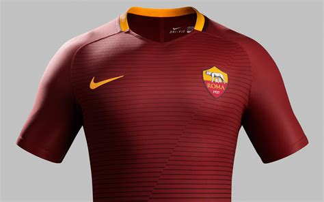 Jersey As Roma Home 3 as roma 16 17 home kit released footy headlines