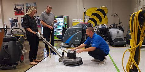 scrub recoat  resilient floors
