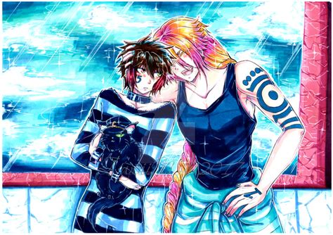 Nanbaka Fanart 28   1115 fanart 14 by zweinszwolf on