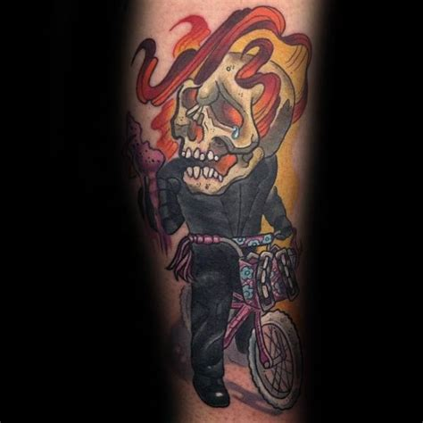 tattoo meaning ghost 50 ghost rider tattoo designs for men supernatural
