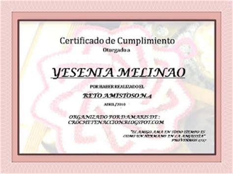 certificado de escuela biblica manos y dedicaci 243 n certificado al cumplimiento reto n 186 4