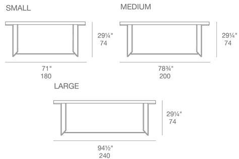 dining room table sizes dimension table 8 personnes photos de conception de