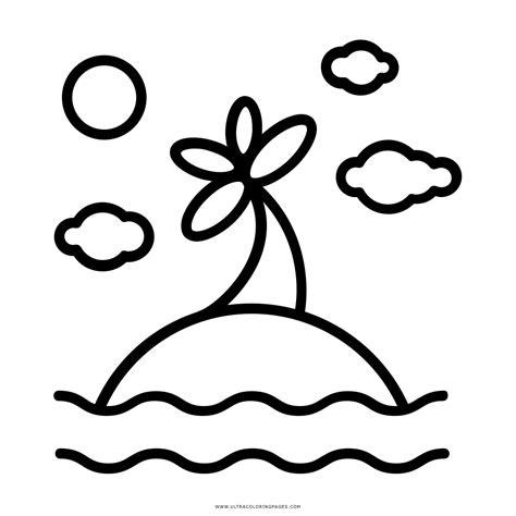 dibujos de islas para colorear dibujo de isla para colorear ultra coloring pages
