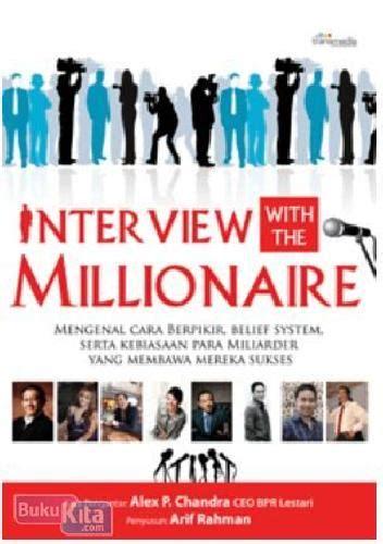 info buku with the millionaire