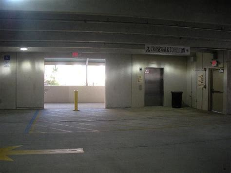 The Garage Orlando isolated area in parking garage picture of