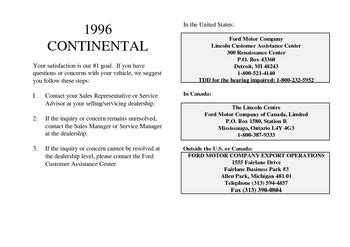 download car manuals pdf free 1994 lincoln continental navigation system download 1996 lincoln continental owner s manual pdf 320 pages