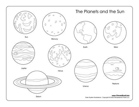 solar system report template planets in our solar system coloring pages templates