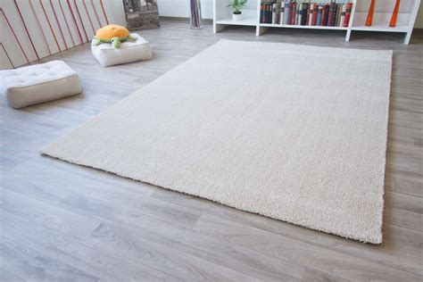 teppich creme hochflor teppich happy xl global carpet