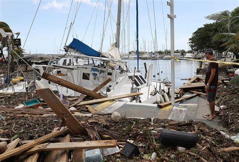 hurricane boats sarasota fl florida keys damage by hurricane irma detailed in first