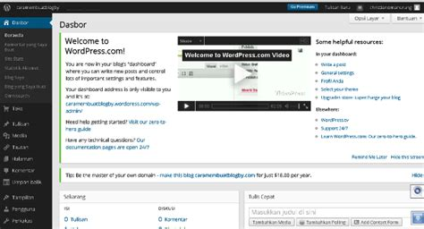 blogger atau blogspot cara membuat blog gratis wordpress atau blogger caraopi