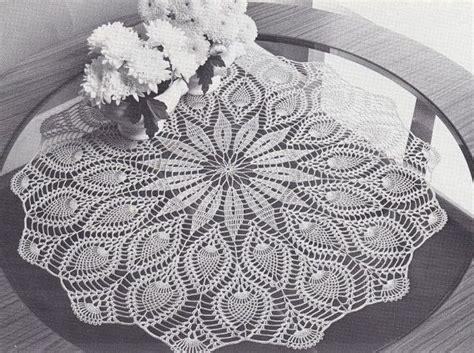 pattern crochet round tablecloth top 144 best crochet tablecloths images on pinterest