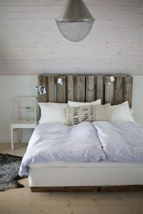 Headboards Made From Pallets by 50 Decoration Ideas To Personalize Your Room With