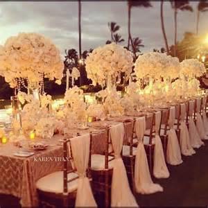 hochzeitsgestecke tisch wedding ceremony table d 233 cor concepts decoration trend