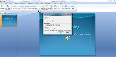 mengatur layout presentasi power point 2007 cara menghilangkan icon speaker pada presentasi powerpoint