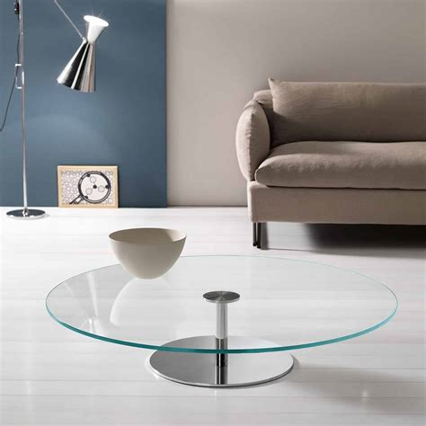 tonelli farniente coffee table klarity glass furniture