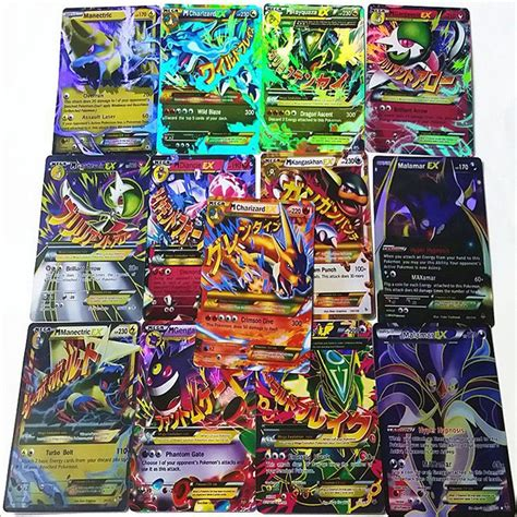 Tcgplayer Gift Card - funny pokemon tcg 60 card all ex 47pcs basic 13pcs mega charizard venusaur gift ebay