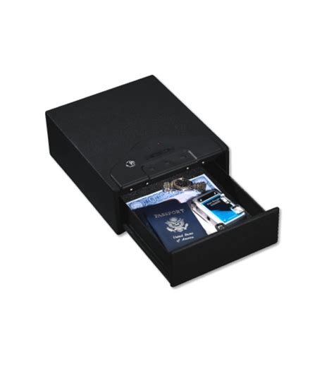 stack on electronic locking drawer safe stack on quick access drawer safe with electronic lock qas