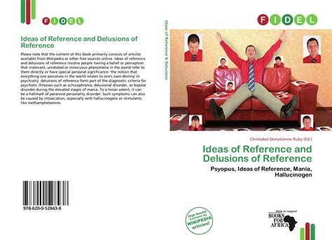 ideas of reference ideas of reference and delusions of reference 978 620 0