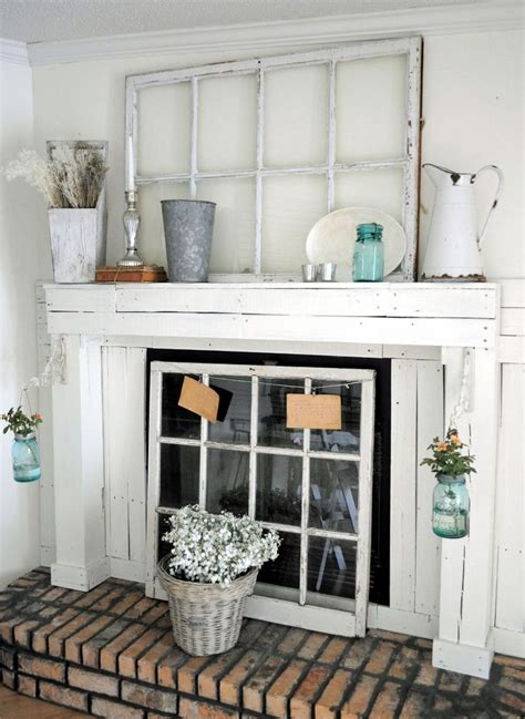 farmhouse fireplace mantel laurieanna s vintage home featured farmhouse october