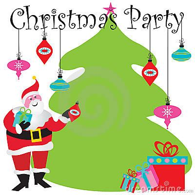 Christmas Tree Invitations - christmas party invitation stock images image 16815874